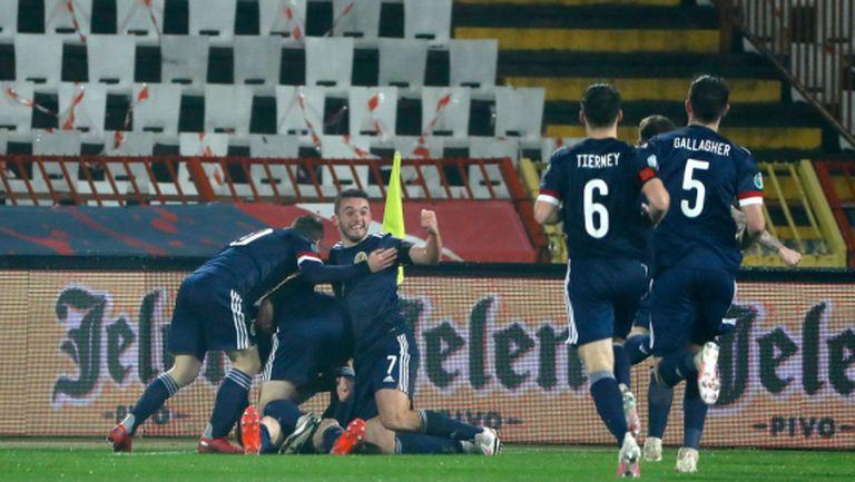 Голямото чакане за Шотландия приключи след дузпи и пропуск на Митрович (видео)