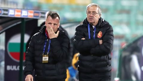 Дерменджиев повика трима нови за мачовете с Финландия и Република Ирландия