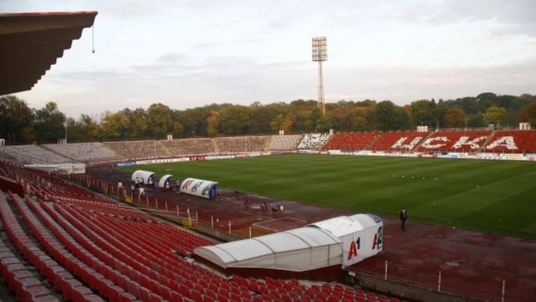 """""""Червените"""" искат дербито с Левски да е на """"Армията"""""""