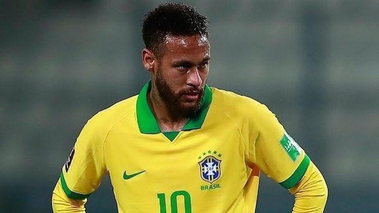 Неймар отпада от състава на Бразилия за мача с Уругвай