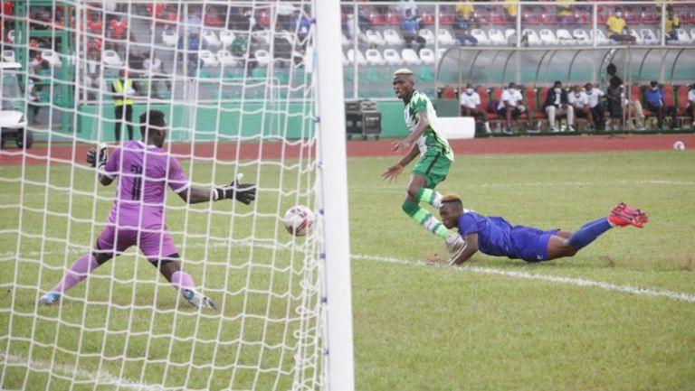 Нигерия пропиля аванс от 4 гола срещу Сиера Леоне