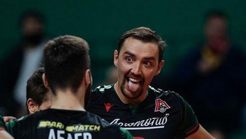 Пламен Константинов и Локомотив (Новосибирск) с трета победа в Суперлигата на Русия