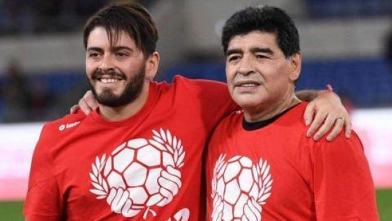 Марадона-младши също беше приет в болница