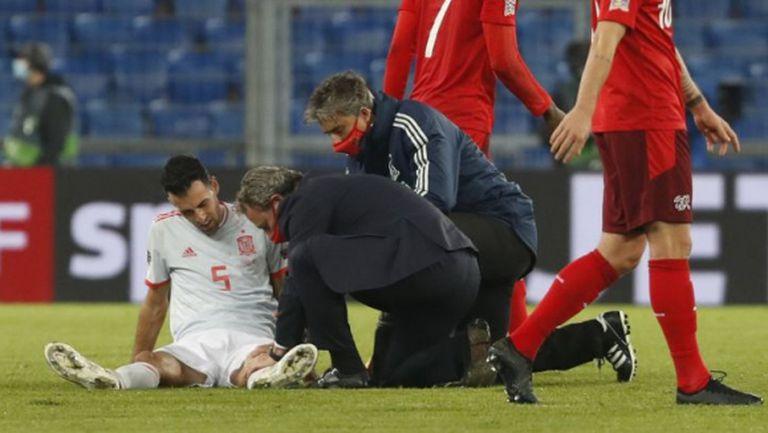 Бускетс е с контузия в коляното, ще отсъства поне 3 седмици