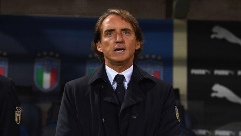Манчини все още не е излекуван и няма да води Италия срещу Босна