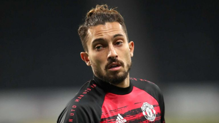 От Ман Юнайтед се надяват Телес да играе в събота, въпреки положителната проба