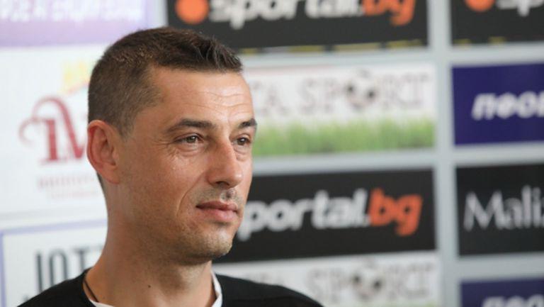 Томаш е новият треньор на Етър