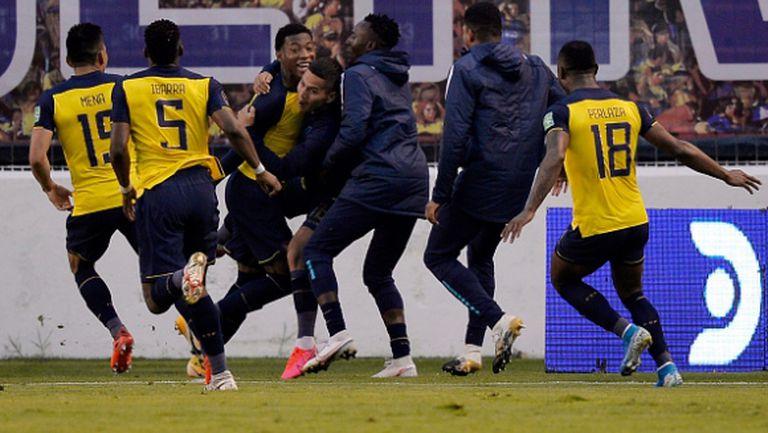 Еквадор се подигра с Колумбия - 6:1 (видео)