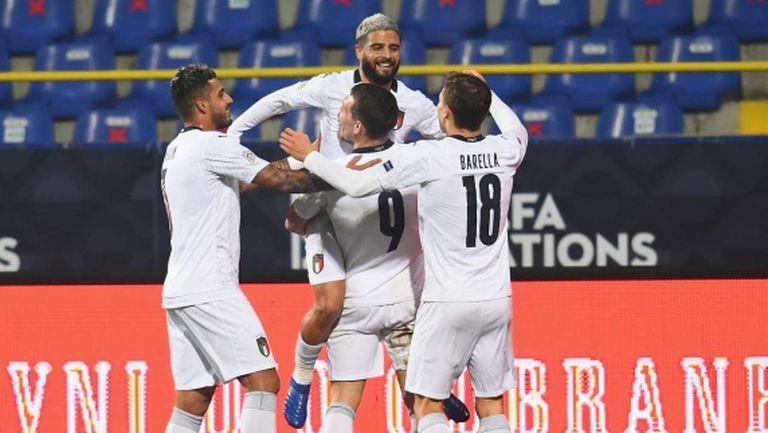 Италия не сбърка срещу Босна и достигна финалите
