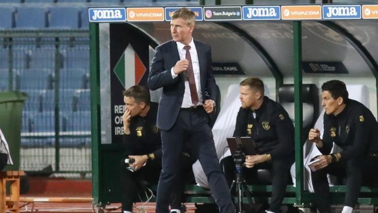 Селекционерът на Ирландия: Беше труден мач, България е един силен отбор