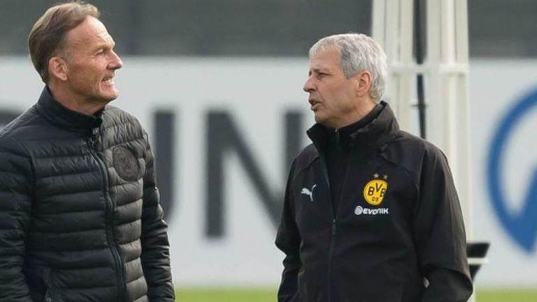 Директорът на Дортмунд коментира работата на треньора