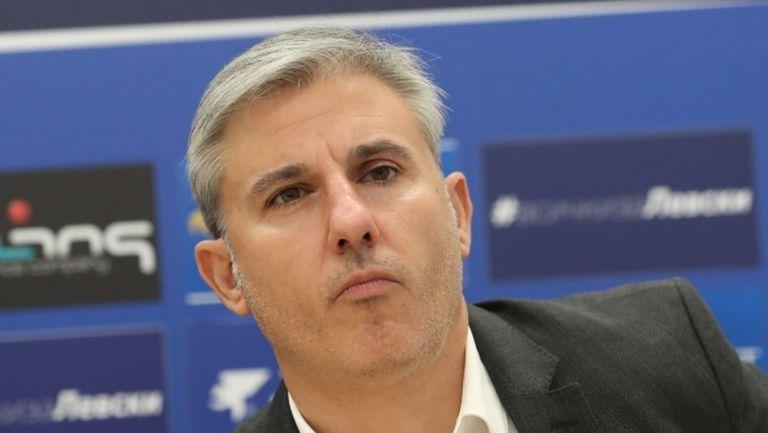 Павел Колев: Не бих казал, че отмененият мач е глътка въздух за нас