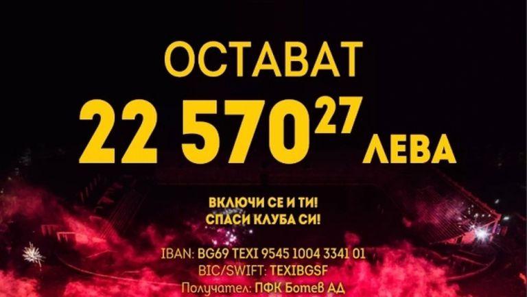 Борис Хвойнев подкрепи кампанията на Ботев (Пд)