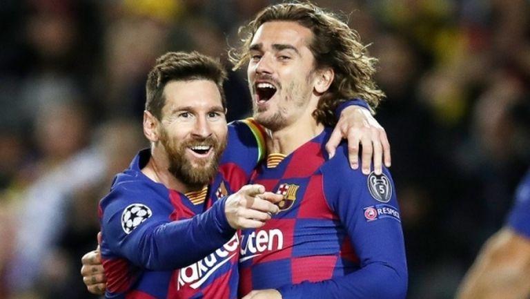 Разгневени фенове на Барселона нападнаха Гризман заради Меси (видео)