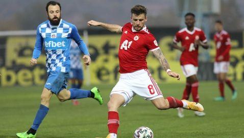Много проблеми за ЦСКА-София преди двубоя от Лига Европа