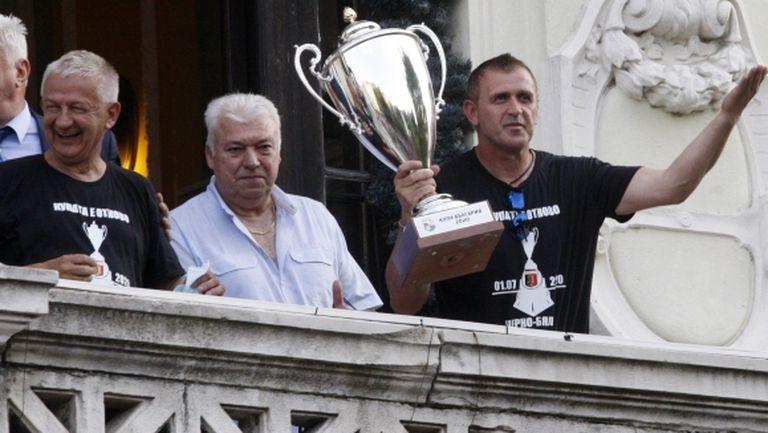 Бруно Акрапович поискал от Христо Крушарски уволнения на шефове в Локо (Пд)?