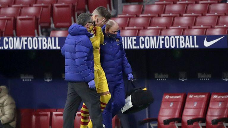 Барселона с официално изявление относно травмите на Пике и Роберто