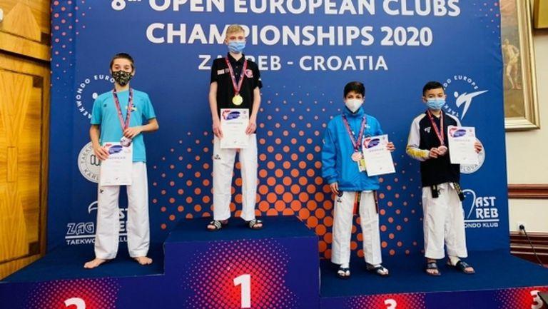 Два сребърни медала за България от ЕП по таекуондо