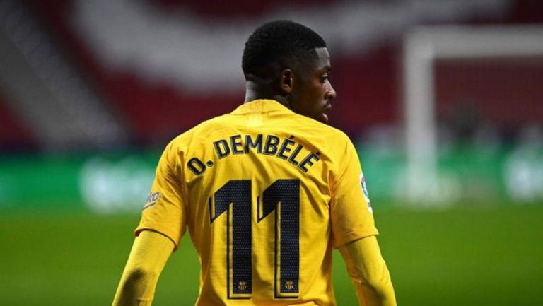 Барселона вече плати 130 млн. евро за Дембеле