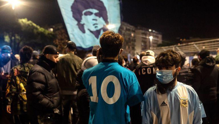 Стартира процедурата по преименуването на стадиона в Неапол