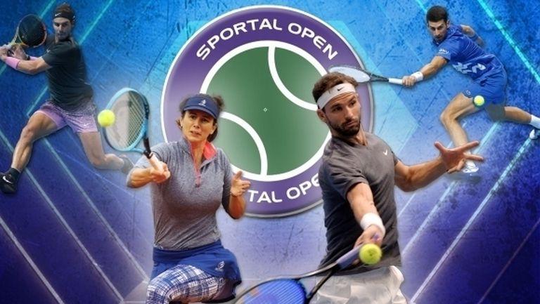 """""""Sportal Open"""" с Николай Драгиев и Николай Илиев - обзор на 2020 година в тениса (видео)"""