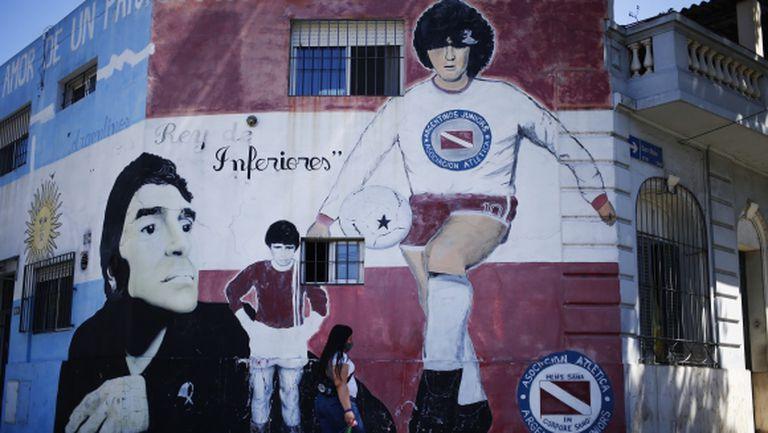 Помощникът на Марадона в Химнасия Ла Плата напусна клуба в знак на уважение към легендата