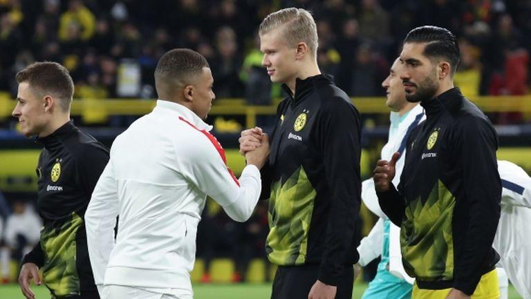Феновете на Реал предпочитат Холанд пред Мбапе