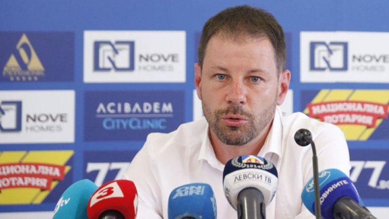 Йончо Арсов дава отчет за школата на Левски
