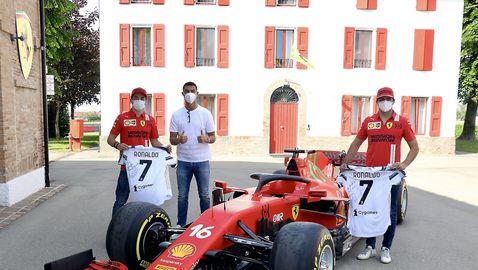 Кристиано пропусна тренировка на Юве, за да разгледа фабриката на Ферари