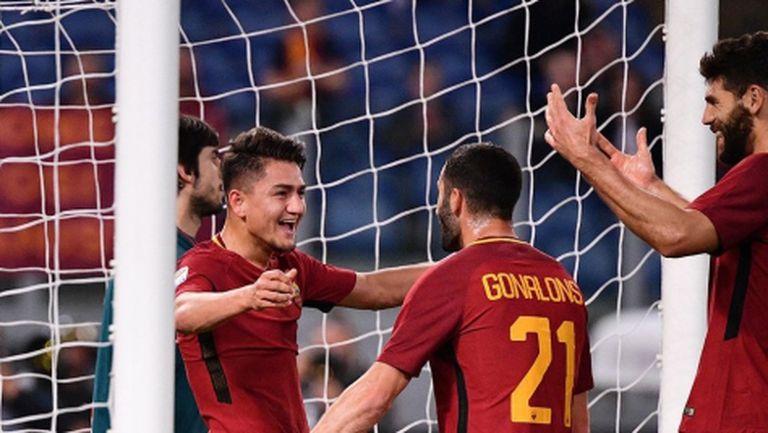 Рома не сгреши срещу Дженоа