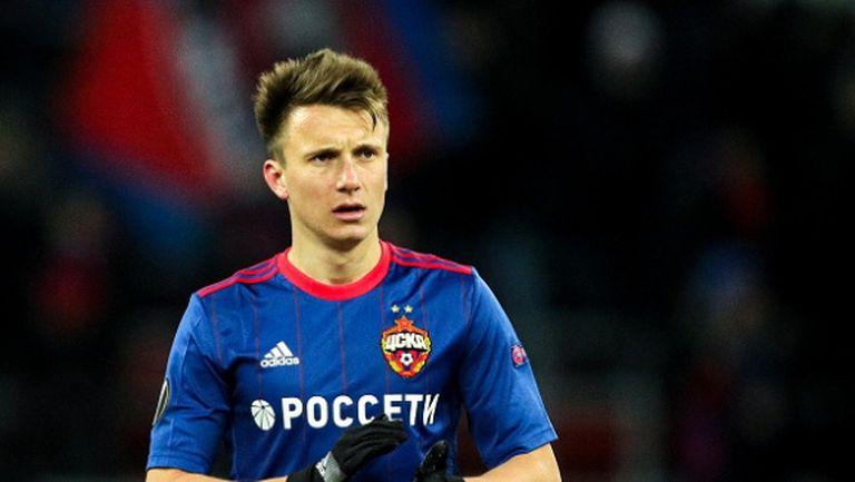 Наполи изпреварва Челси и Арсенал за руски национал
