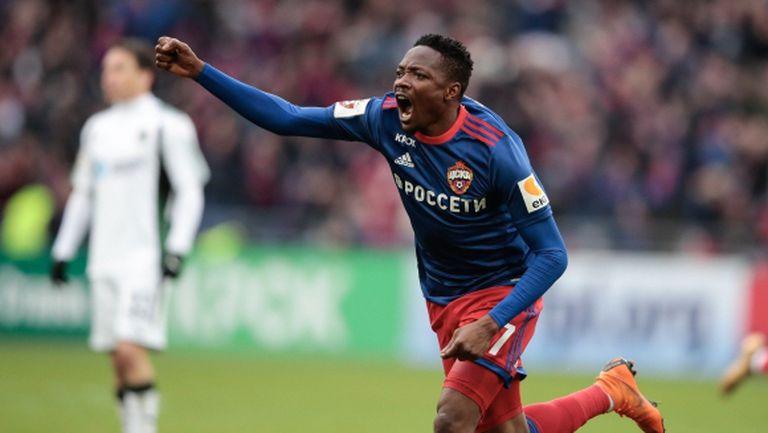Муса донесе скъпоценна победа на ЦСКА, Миланов гледа от пейката (видео)