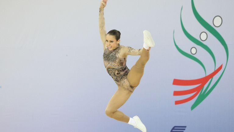 Ана-Мария Стоилова спечели титлата при жените на държавното първенство по спортна аеробика