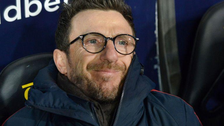 Треньорът на Рома се надъхва за Ливърпул с боя над Барса