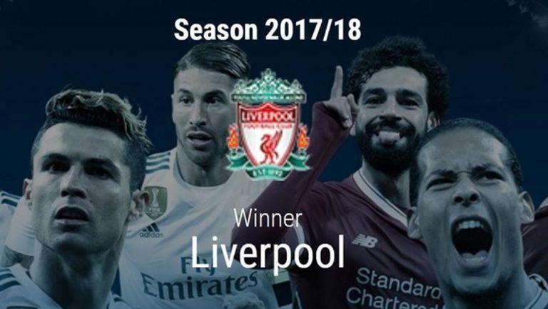 УЕФА вече обяви победителя в Шампионската лига