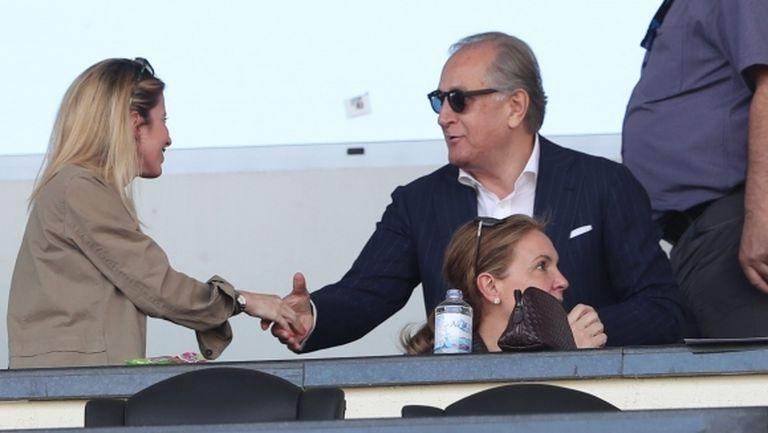 Ривалдо и Спас Русев са на стадиона - босът: Левски трябва да подходи отговорно и да победи (видео+галерия)