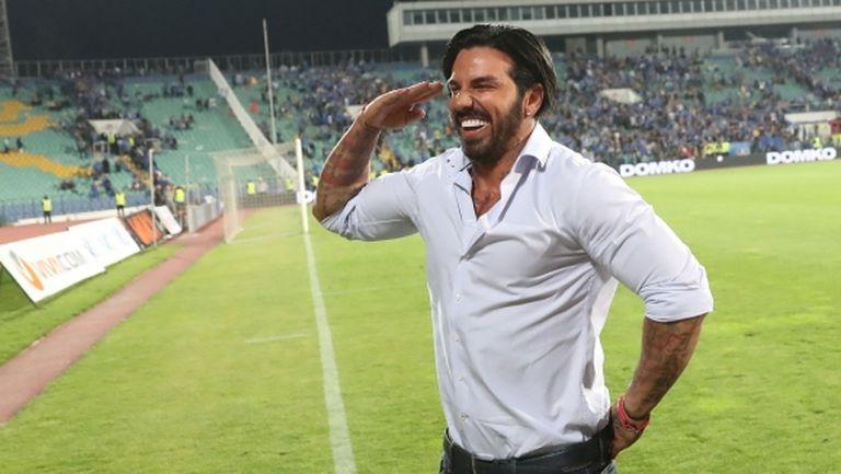 Благо Георгиев след триумфа: Левски са ни абонати!