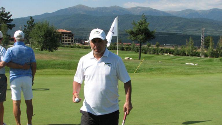 Стоичков ще играе голф с Батистута и Гуардиола