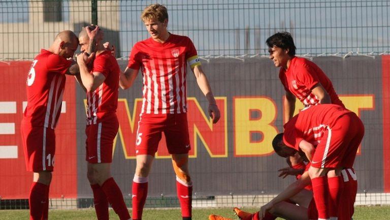 Царско село завърши сезона във Втора лига с успех