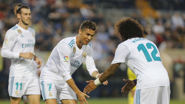 Реал Мадрид сдаде второто място в Примера (видео + галерия)