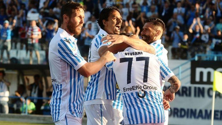 """СПАЛ ще играе в Серия """"А"""" и през следващия сезон след бой над Сампдория"""