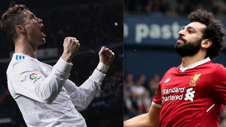 Кой ще отправи повече точни удари - Роналдо или Салах?