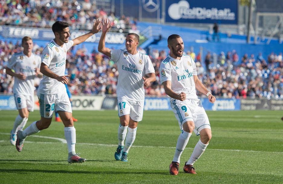 Хетафе - Реал Мадрид 1:2