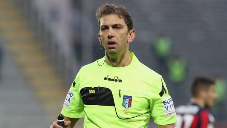 Знаков италиански съдия се оттегли от футбола