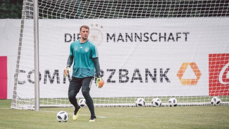 Нойер записа още един мач - този път срещу Германия (видео)