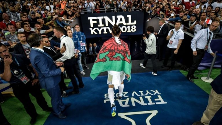 Бейл прекарал 20 минути в съблекалнята на Ливърпул след финала на Шампионската лига