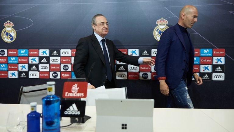 Шок! Зидан напусна Реал Мадрид!