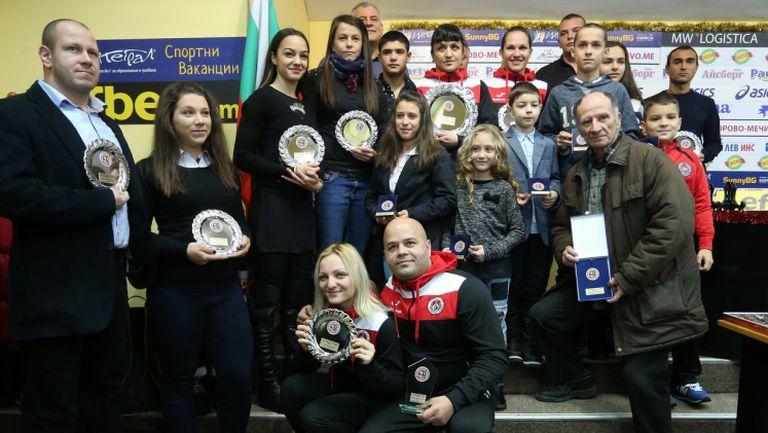 Локомотив(София) награди 10-те най-добри спортисти за 2016-та година
