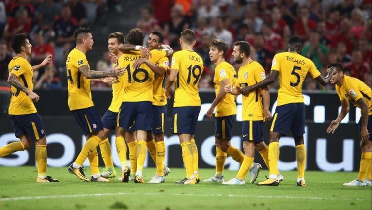 Атлетико се наложи над Ливърпул след дузпи и вдигна трофей