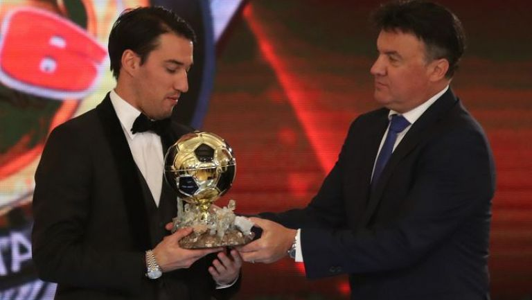 Ивелин Попов е футболист на годината